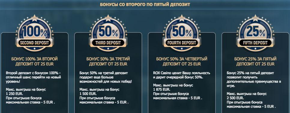Rox casino (Рокс казино) обзор