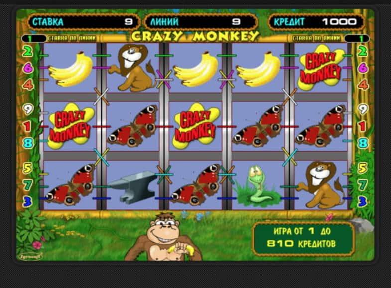 Гри онлайн автомати мавпочки